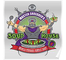 TMNT Master Shredder's Soup House Poster