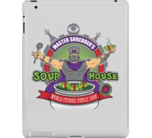 TMNT Master Shredder's Soup House iPad Case/Skin