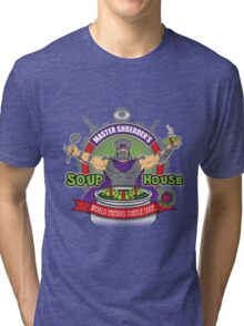 TMNT Master Shredder's Soup House Tri-blend T-Shirt