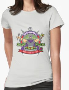 TMNT Master Shredder's Soup House Womens Fitted T-Shirt