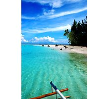 Outrigger to nowhere Photographic Print