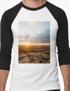 Cadillac Sunset Men's Baseball ¾ T-Shirt
