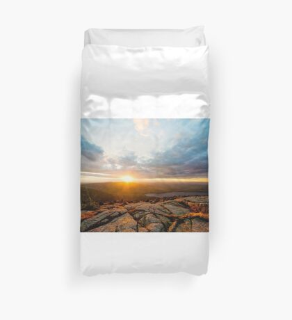 Cadillac Sunset Duvet Cover
