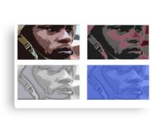 Coloured army man Canvas Print