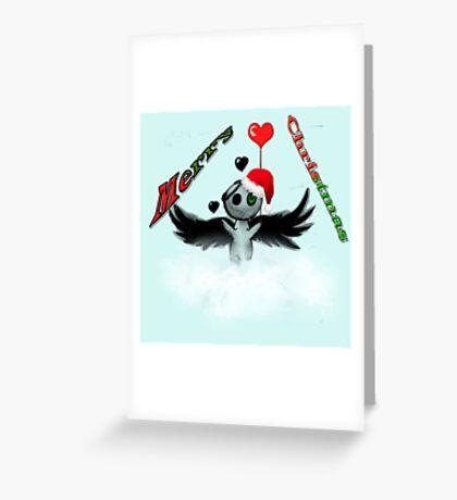 Dark Angel's Merry Christmas Greeting Card