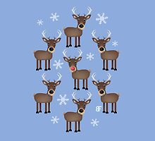 Rudolf and friends by Ben Farr