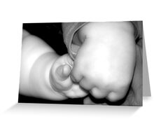 Little Hands Greeting Card