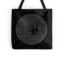 Warlord and green alien bike ride Tote Bag