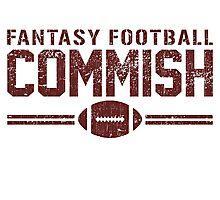 Fantasy Football Commish Photographic Print
