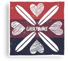 Classic Romance Canvas Print