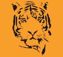 tiger t-shirt by parko