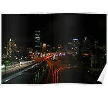 Busy City Poster