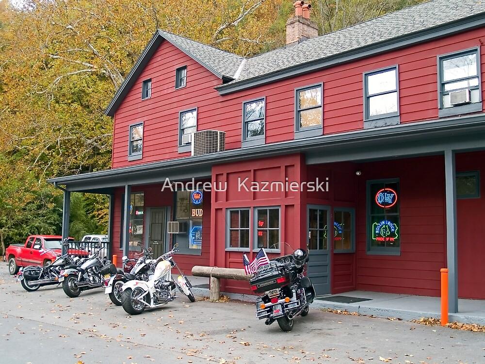 Biker Bar by andykazie