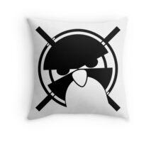 Ultimate TUX gamer [UltraHD] Throw Pillow