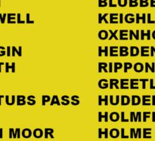 Tour de Yorkshire 2014 Front Sticker