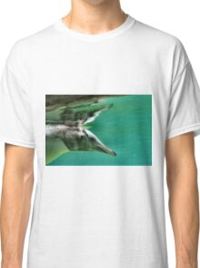 "The Penguin  (3) - Fantastic underwater photo of a penguin in ""flight"" Classic T-Shirt"