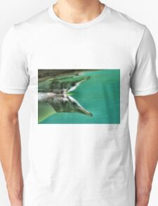 "The Penguin  (3) - Fantastic underwater photo of a penguin in ""flight"" Unisex T-Shirt"