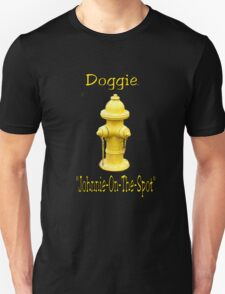 "Doggie ""Johnny-On-The-Spot""! T-Shirt"