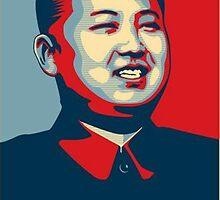 Kim Jong-un NUT CASE by Solbessx
