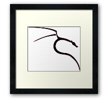 Kali linux ultimate logo [UltraHD] Framed Print