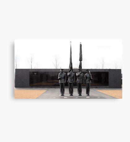 Air Force Memorial Statue Canvas Print