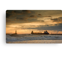 Leaving the Wear Canvas Print
