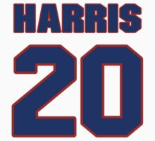 National football player Jimmy Harris jersey 20 by imsport
