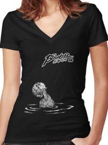 The Breaker Women's Fitted V-Neck T-Shirt