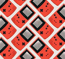 Gameboy Color (RED) by Zeke Tucker