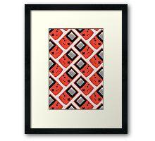 Gameboy Color (RED) Framed Print