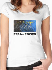 Pedal Power Women's Fitted Scoop T-Shirt