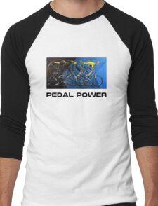 Pedal Power Men's Baseball ¾ T-Shirt