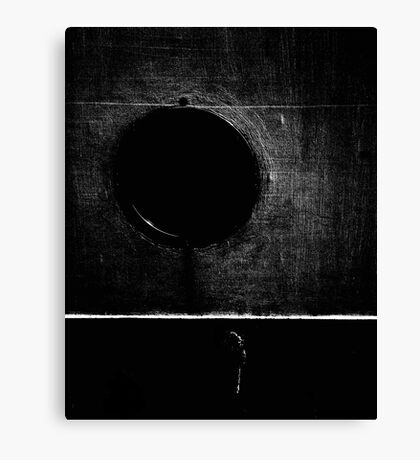 line and circumference Canvas Print