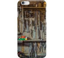 Vintage Tools Workshop iPhone Case/Skin