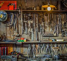 Vintage Tools Workshop by mrdoomits