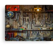 Vintage Tools Workshop Canvas Print
