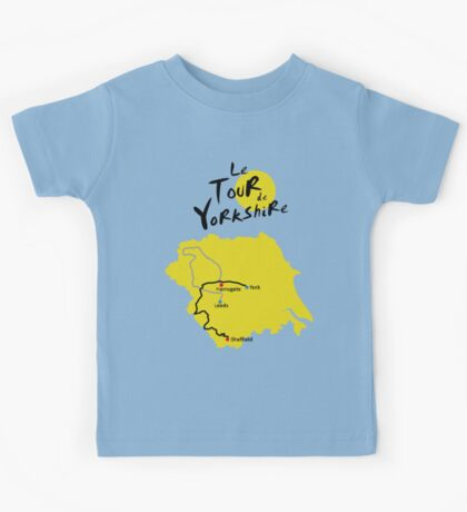 Tour de Yorkshire Kids Tee