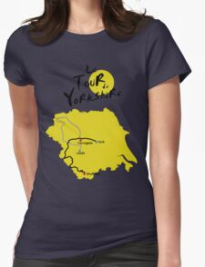Tour de Yorkshire Womens Fitted T-Shirt