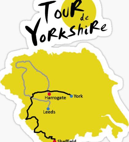 Tour de Yorkshire Sticker