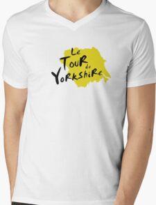 Le Tour de Yorkshire 3 Mens V-Neck T-Shirt