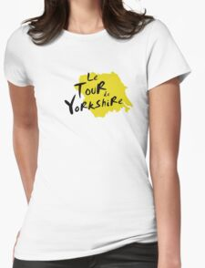 Le Tour de Yorkshire 3 Womens Fitted T-Shirt