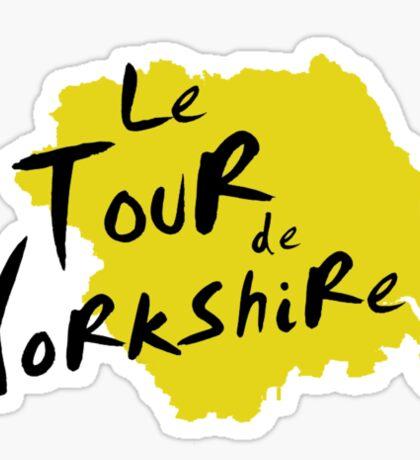 Le Tour de Yorkshire 3 Sticker
