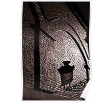 Brugge lamplight Poster