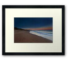 Dawn Inverness Beach Framed Print