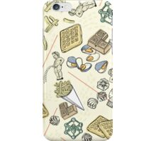 Brussels trivia iPhone Case/Skin