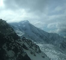 Moody clouds over chamonix by Helen1000