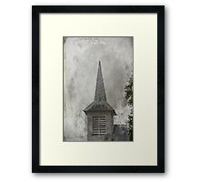 Vintage Church Framed Print
