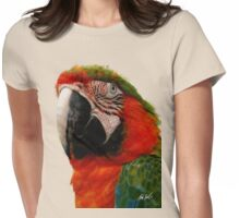 Parrot Head Womens Fitted T-Shirt
