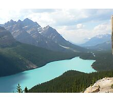 Lake Peyto, Alberta, Canada Photographic Print