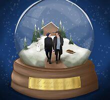 snow globe by wreckthisjessy
